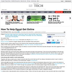 How To Help Egypt Get Online