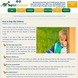How to Help Shy Children