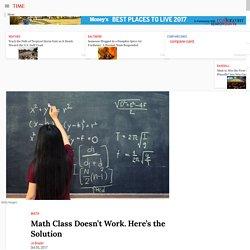 How to Improve Math Class