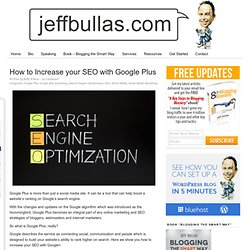 How to increase your SEO