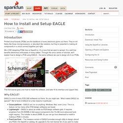 How to Install and Setup EAGLE