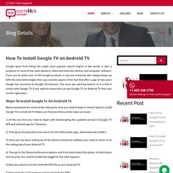 How To Install Google TV on Android TV