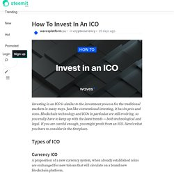 How To Invest In An ICO