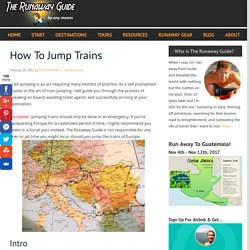 How To Jump Trains