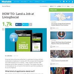 HOW TO: Land a Job at LivingSocial
