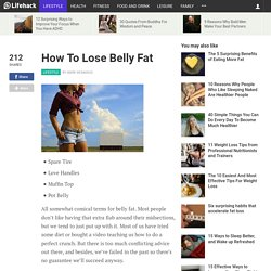How To Lose Belly Fat - Stepcase Lifehack