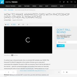 How To Make an Animated GIF with Photoshop