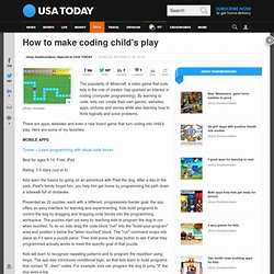 How to make coding child's play