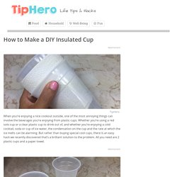 How to Make a DIY Insulated Cup