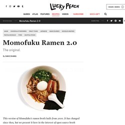 How To Make Momofuku Ramen