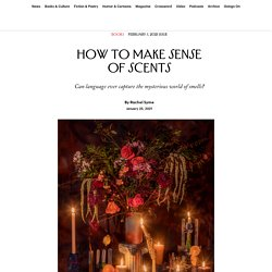 How to Make Sense of Scents
