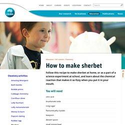 How to make sherbet