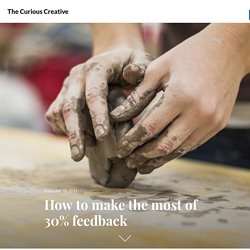 How to make the most of 30% feedback