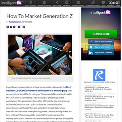 How To Market Generation Z