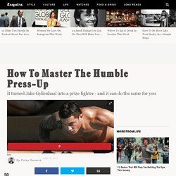 How To Master The Humble Press-Up
