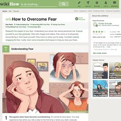 4 Ways to Overcome Fear