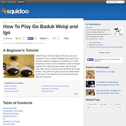 How To Play Go Baduk Weiqi and Igo