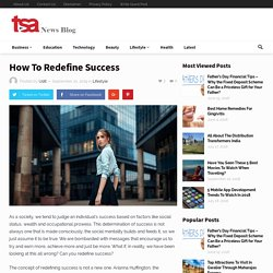 How To Redefine Success