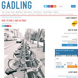 How To Ride A Bike In Paris - Gadling