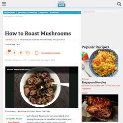 How to Roast Mushrooms