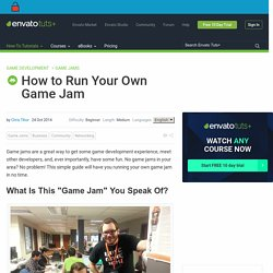 How to Run Your Own Game Jam