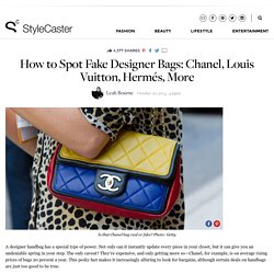 How To Spot a Fake Designer Bag