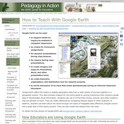How to Teach With Google Earth