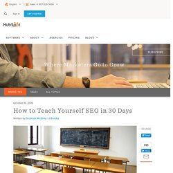 How to Teach Yourself SEO in 30 Days