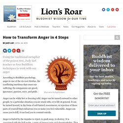 How to Transform Anger in 4 Steps