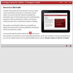 iPad Design Guide
