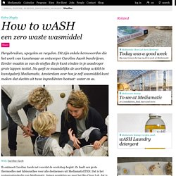How to wASH - Mediamatic