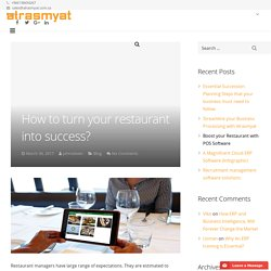 How to turn your restaurant into success?