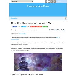 How the Universe Works with You