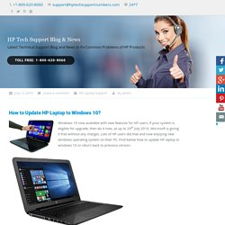 How to Update HP Laptop to Windows 10?