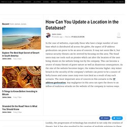 How Can You Update a Location in the Database?