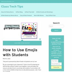 How to Use Emojis with Students