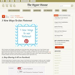 How to Use Pinterest | The Hyper House