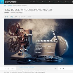 How to Use Windows Movie Maker: For Beginners (c)