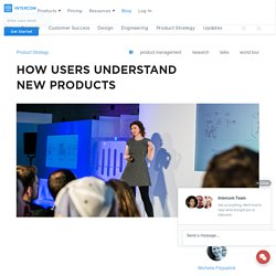 How users understand new products