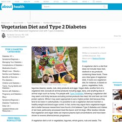 How to Be a Vegetarian with Type 2 Diabetes