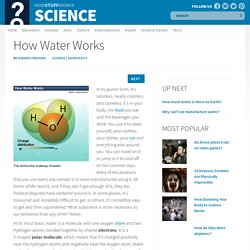 How Water Works