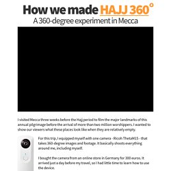 How we made HAJJ 360
