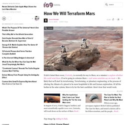 How We Will Terraform Mars