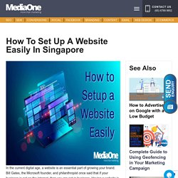 How to Set Up a Website Easily in Singapore