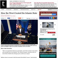 How the West Created the Islamic State