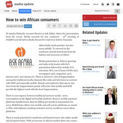 How to win African consumers