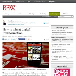 How to win at digital transformation