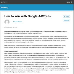 How to Win With Google AdWords