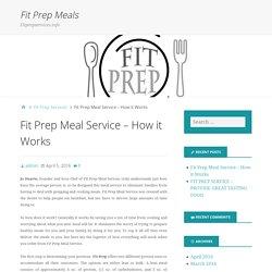 Fit Prep Meals