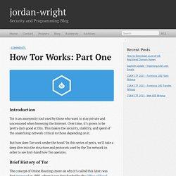 How Tor Works: Part One - jordan-wright